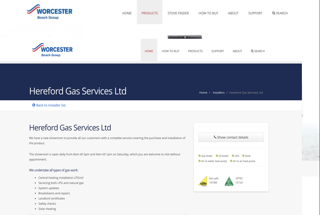 Hereford Gas Services Hereford (Herefordshire) Heating Engineers Hereford